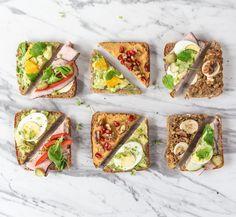 Power Kanapki - śniadanie które daje kopa - Jak Ona To Robi Avocado Toast, Vegetable Pizza, Risotto, Tacos, Vegetables, Breakfast, Ethnic Recipes, Foods, Instagram