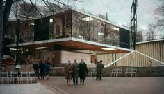 Yugoslav Pavillon at Expo 58 in Brussels Vjenceslav Richter