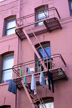 San Francisco, California laundry.