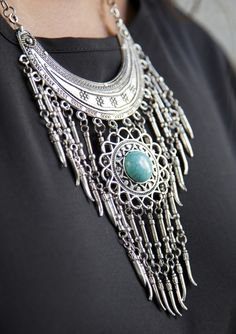 The Fringe Statement Necklace