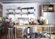 country loft kitchen