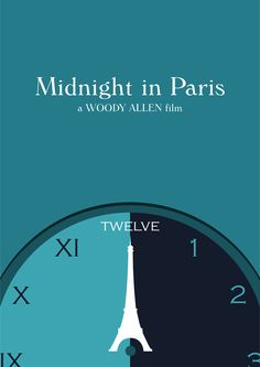 Midnight in Paris (2011) ~ Minimal Movie Poster by ChotaMota Designs #amusementphile