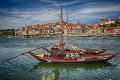 Barcos Rabelos | Flickr - Photo Sharing! Porto. Douro River, Portugal