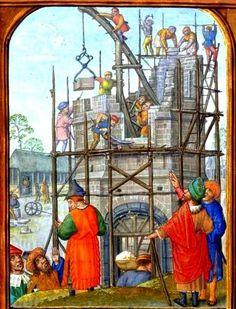 Construction de la tour de Babel Origine inconnue