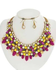 Image of Fireworks Statement Necklace