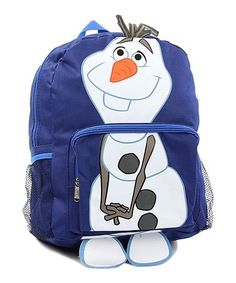 Look what I found on #zulily! Frozen Olaf Backpack #zulilyfinds