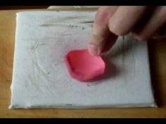 Как булить лепестки роз