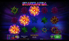 Slotowe gry Starmania - Gdzieś daleko, w oddalonej o miliony lat galaktyce znajdują się gwiazdy, które wchłonęły wszystkie Free Spiny z tego wszechświata i emitują one astronomiczne wygrane.