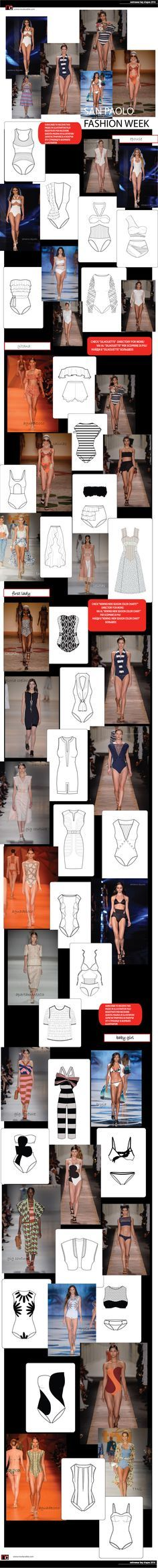 key shapes swimwear SS2016 only at www.modacable.com join us and get free access to our vector folder on Dropbox with all the fashion flats, colors, mood boards and etc