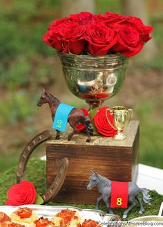 Kentucky Derby party ideas decor