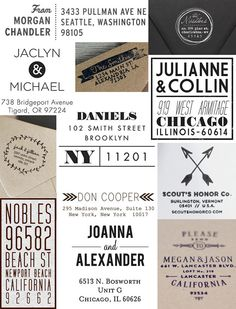 Personalized Rubber Stamps