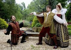 The Pennsylvania Renaissance Faire  -  Where you can meet Queen Elizabeth I and watch a duel for her honor.