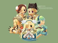 ragnarok online chibi characters