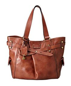 Fossil Handbag..so in love with its rugged charm