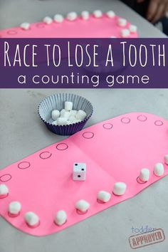 Race to lose a tooth: a counting game #math