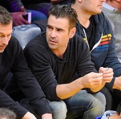 Colin Farrell at the Staples Center for the Los Angeles Lakers Game. (Jan 10, 2017)