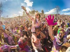 Photo of the Day!The Holi Festival of Colors in Spanish Fork, Utah. Photo by Dane Christensen.  Have a GoPro cool photo? Share it here: http://g.gopro.com/submit