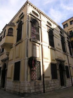 Jewish Ghetto - Venice, Italy - Scuola Levantina - Levantine Jews