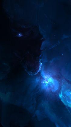 Atlantis Labyrinth Nebula #iPhone #5s #Wallpaper