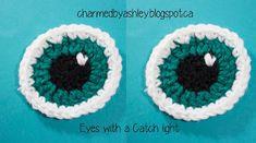 Crochet Hat Eye's Slouch Hat Crochet Pattern, Crochet Amigurumi Free Patterns, Crochet Stitches Patterns, Crochet Dolls, How To Start Crochet, Crochet For Kids, Crochet Baby, Knit Crochet, Crochet Eyes