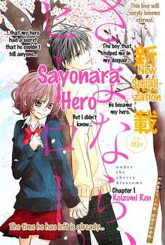 Sayonara, Hero #manga #shoujo #romance