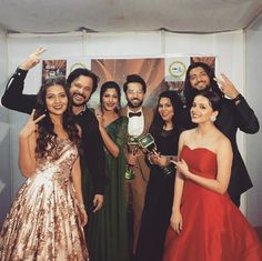 It doesn't matter how many people are there. We can easily identify the romance between Shivika Famous Celebrities, Bollywood Celebrities, Bollywood Actress, Bollywood Images, Bollywood Stars, Tv Actors, Actors & Actresses, Star Fashion, Fashion Outfits