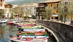 #5 Bardolino, Verona – Top 10 happiest places in Italy - On the eastern shore of Lake Garda, Bardolino's economy is mostly based on tourism and the production of its world famous wine.
