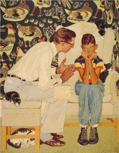 The Facts of Life - Norman Rockwell