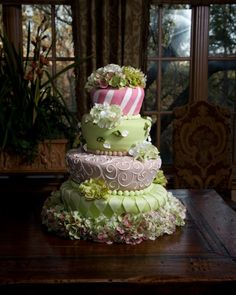 """""""Tea for Two"""" cake!!!!!!!!!!!    I am obsessed with this!"""