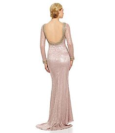 Terani Couture JewelTrimmed Gown #Dillards