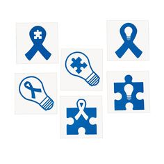 April 2n is World Autism Awareness Day, show your support with these tattoos - OrientalTrading.com