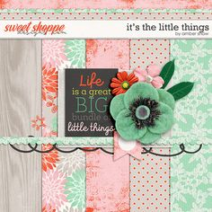 DigiScrapParade - Its The Little Things - ashaw-itsthelittlethings