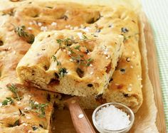 I Love Food, Good Food, Yummy Food, Foccacia Recipe, Kitchen Recipes, Cooking Recipes, Bread Recipes, Tapas Menu, Cooking Bread