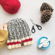 A new pattern based on an old classic! After searching and searching, I couldn't find a marl yarn that I liked. Finally it hit me…..