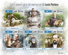 GB15608a 120th memorial anniversary of Louis Pasteur (Two crystal enantiomorphic sodium ammonium tartrate separated by Pasteur in 1848)
