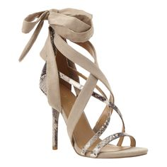 Rustic Strappy Sandals