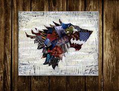 Stark Crest Collage
