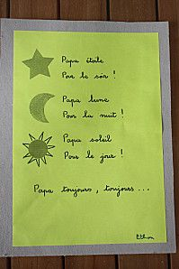 Fête des pères 2 Fathers Day Crafts, Happy Fathers Day, Petite Section, Crafts For Kids, Diy Crafts, Mother And Father, Art School, Parents, Classroom