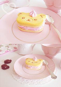 Cute Rilakkuma pastery ☆★    #sweet #cute #kawaii #pastry