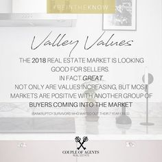 @coupleofagents || 2018 means that many of those who declared bankruptcy in the stock market crash have waited ut their 7 year exile and are now looking to buy a home! If you have been waiting for the right time to sell, 2018 may be your year 👀 #ValleyValues #CoupleOfAgentsRealEstate #myphx