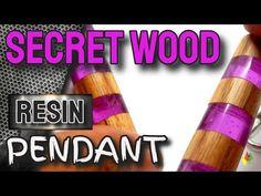 Membuat Perhiasan Dari Kayu Dan Resin 108 / RESIN ART - YouTube Wood Resin, Resin Art, Making Resin Rings, Resin Pendant, Youtube, Diy, Bricolage, Do It Yourself, Youtubers