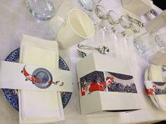 Mervyn Gers inspired table Decor