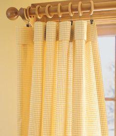 Laurel Check Rod Pocket Curtains $79.95 - $119.95