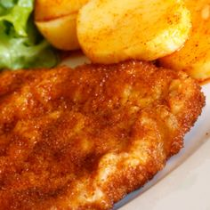 Lemon Chicken Schnitzel Recipe from Grandmother's Kitchen