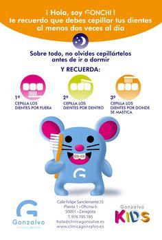 #GONSEJO Nº04: Recuerda cepillar tus dientes