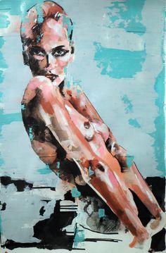 """1-14-14 figure"" (2014) - Thomas Donaldson - Saatchi Art Artist"