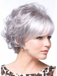 Women Peluca Short Haircuts Curly wigs Peruca with full bangs for women layers Pixie Cut Synthetic Hair wigs