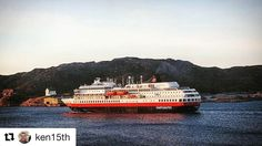 En flott måte å se Norge er langs kysten. #reiseblogger #reisetips #reiseliv #visitnorway  #Repost @ken15th with @repostapp  M/S Finnmarken  #bodø #nordnorge #norge #februar #vinter #naturfoto #norges_fotogalleri #norges_fotografer #visitbodo #ig_nordnorge