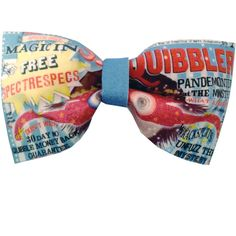 Quibbler Luna Lovegood Inspired Harry Potter Hair Bow or Bow Tie Geeky... ($12) ❤ liked on Polyvore