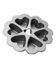 Take a look at this Platinum Nonstick Mini Heart Pan I bought at zulily today!